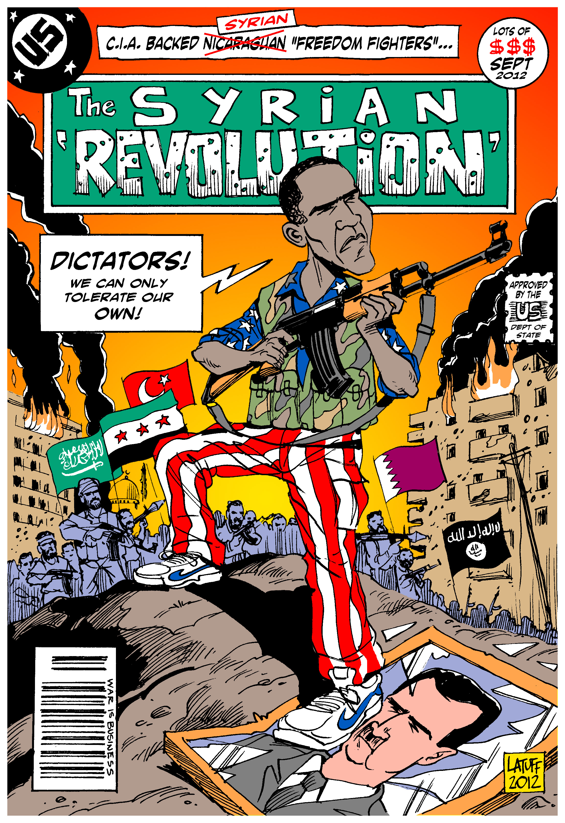 syrian revolution The franco-syrian war took place during 1920, between the hashemite rulers of the newly established arab kingdom of syria and france during a series of engagements, which climaxed in the battle of maysalun, french forces defeated the rebel forces of the hashemite monarch king faisal, and his supporters, entering damascus on july 24, 1920.