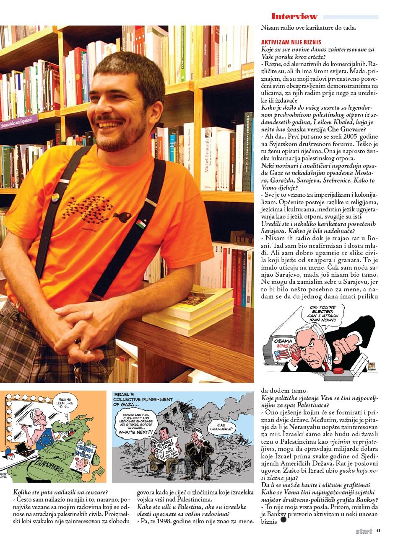 Bosnian magazine Start BiH 2