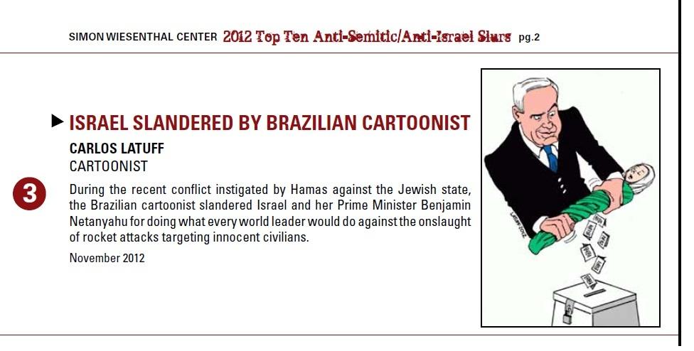 Simon Wiesenthal Center report December 2012