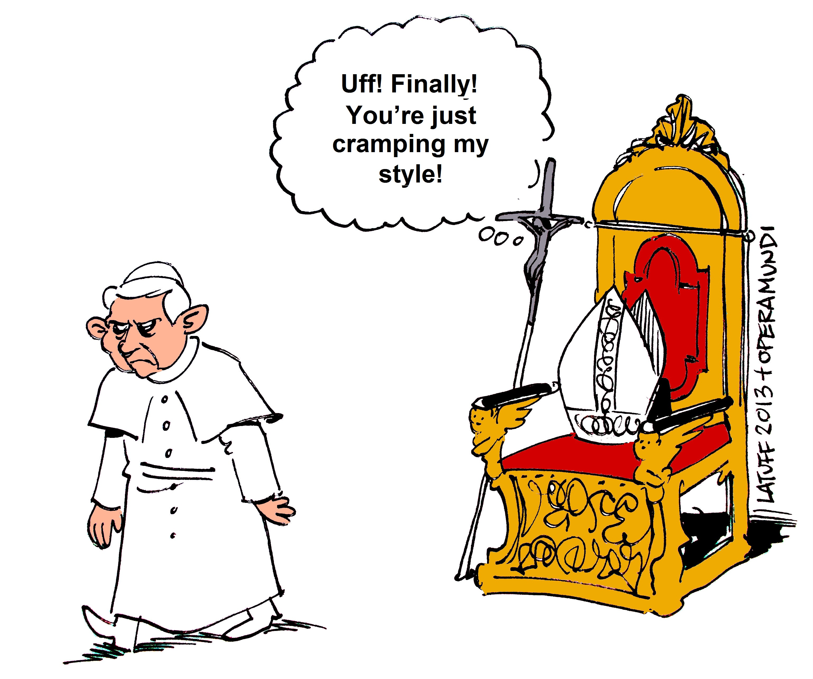 pope benedict xvi latuff cartoons