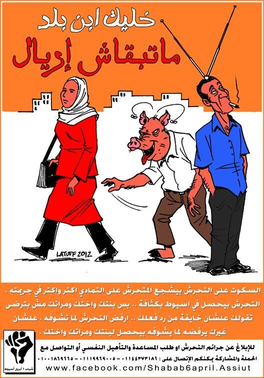 Sexual harassment poster Egypt