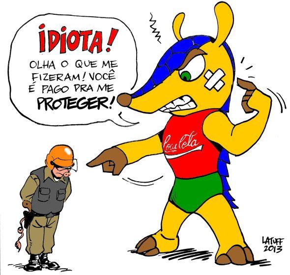 Tatu Bola Porto Alegre Brigada