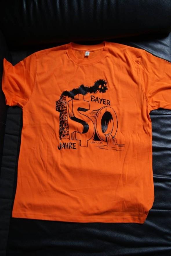 Bayer 150 Jahre tshirt