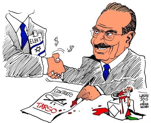 Tarso assina acordo com Israel