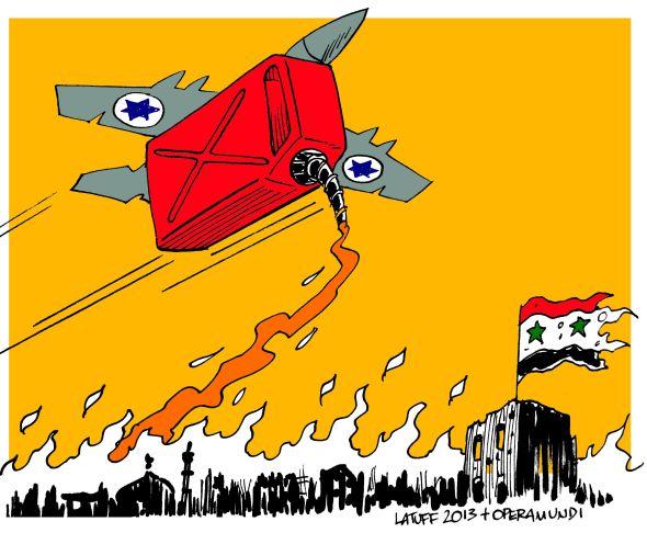 Israeli raid over Syria