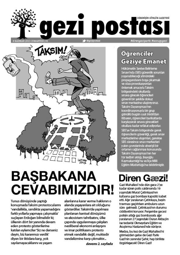 Gezi Postasi