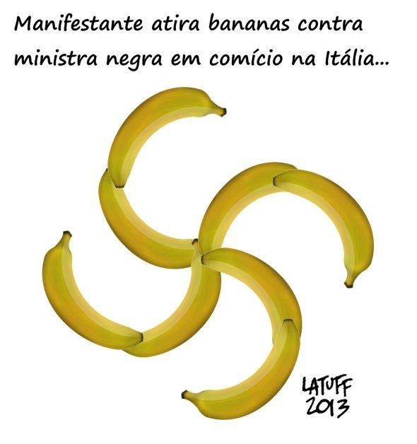 Ataque racista com bananas na Italia