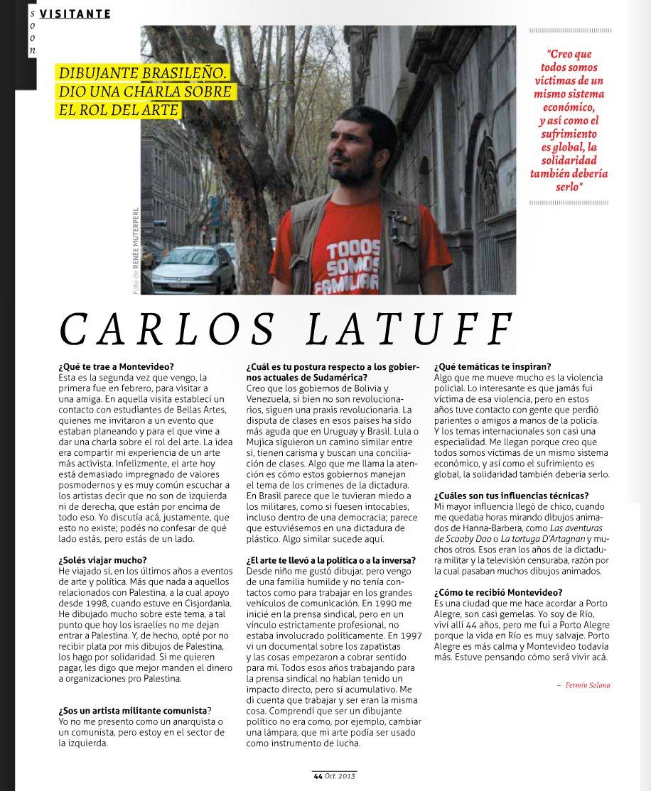 Revista Bla Uruguay October 2013