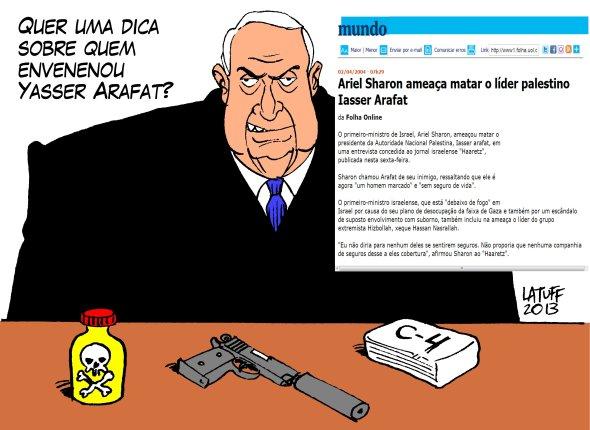 Envenenando Arafat