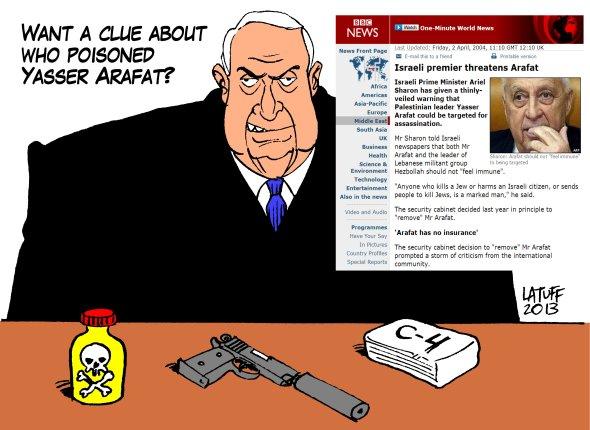 Poisoning Arafat