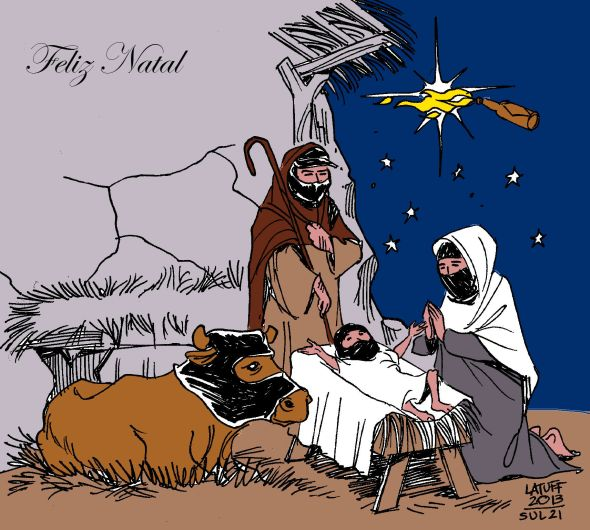 Feliz Natal Latuff