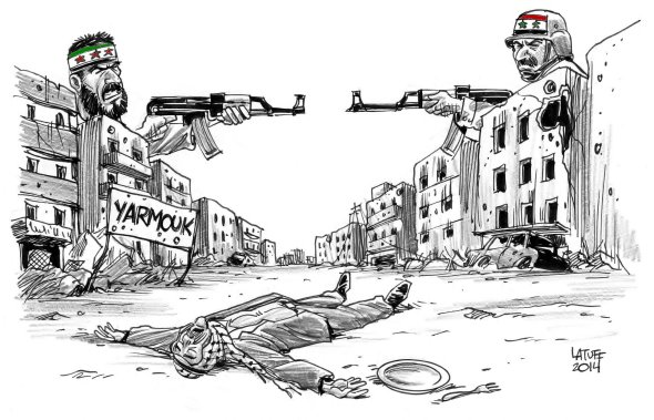 Siege of Yarmouk Palestinian refugee camp