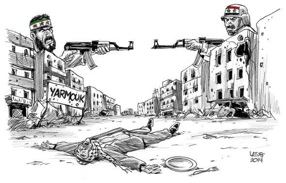 Siege of Yarmouk Palestinian refugee camp