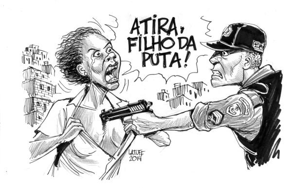 Violencia policial nas favelas