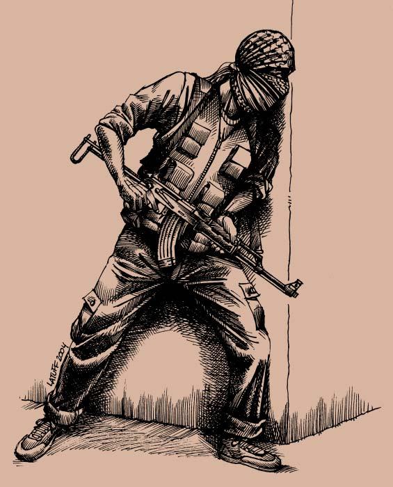 Palestinian_guerrilla_by_Latuff2