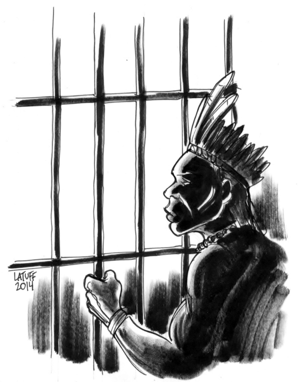Kaingangs presos no RS