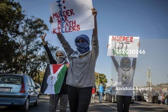 Gaza protest Pretoria South Africa