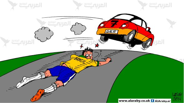 Brazil got run over by Germany World Cup Al Araby