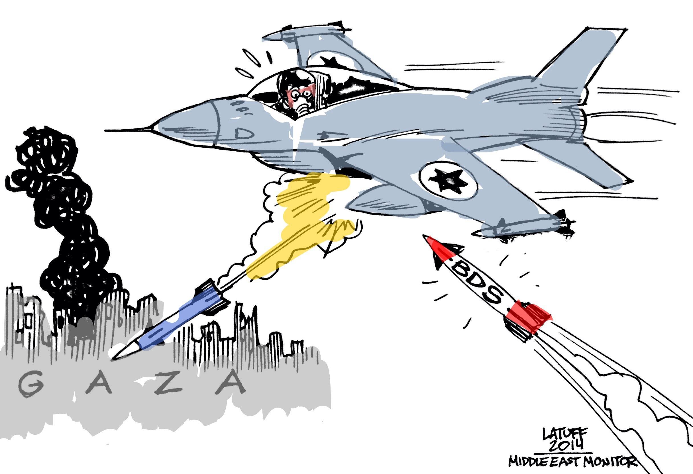 Boycott apartheid Israel Gaza