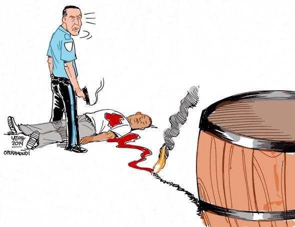Policia de Ferguson nos EUA mata jovem negro Michael Brown