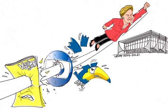 Dilma derrota Aecio