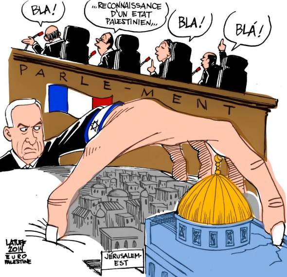 French parliament votes for recognition of Palestinian state