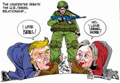 Trump Hillary Israel Mondoweiss