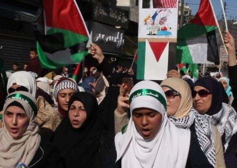 Protest against Trump Amman Jordan December 15 2017 Shadi Nsoor Anadolu Agency Getty Images