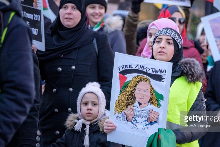 Trump protest Malmo Sweden January 07 2018 Magnus Persson SOPA Images LightRocket Getty Images