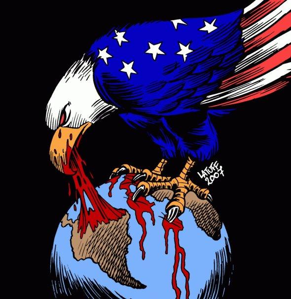 Latuff US imperialism