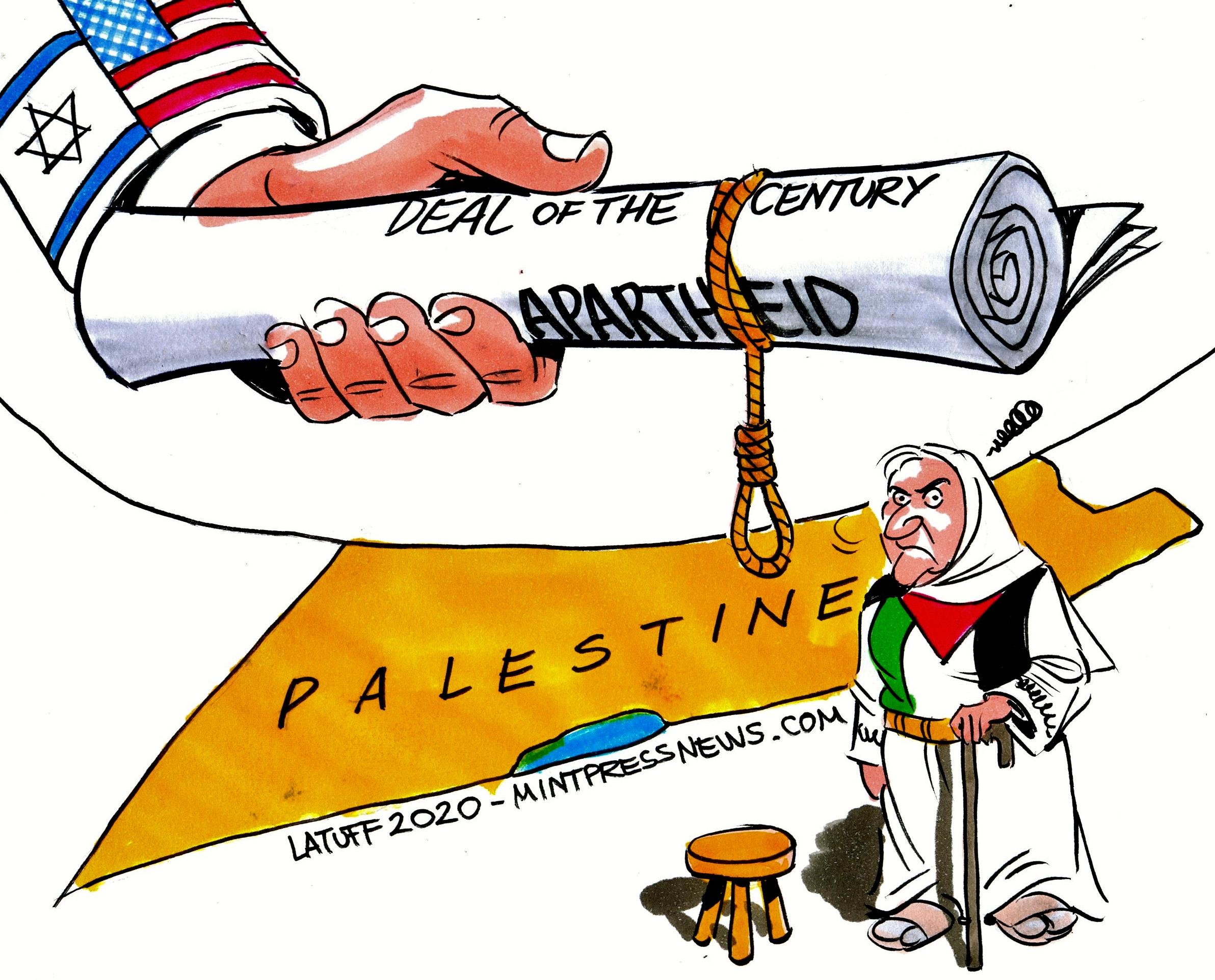Deal of the Century apartheid Israel Trump Netanyahu Mother Palestine MintPress News