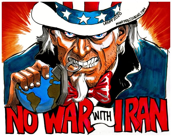 No War with Iran MintPress News