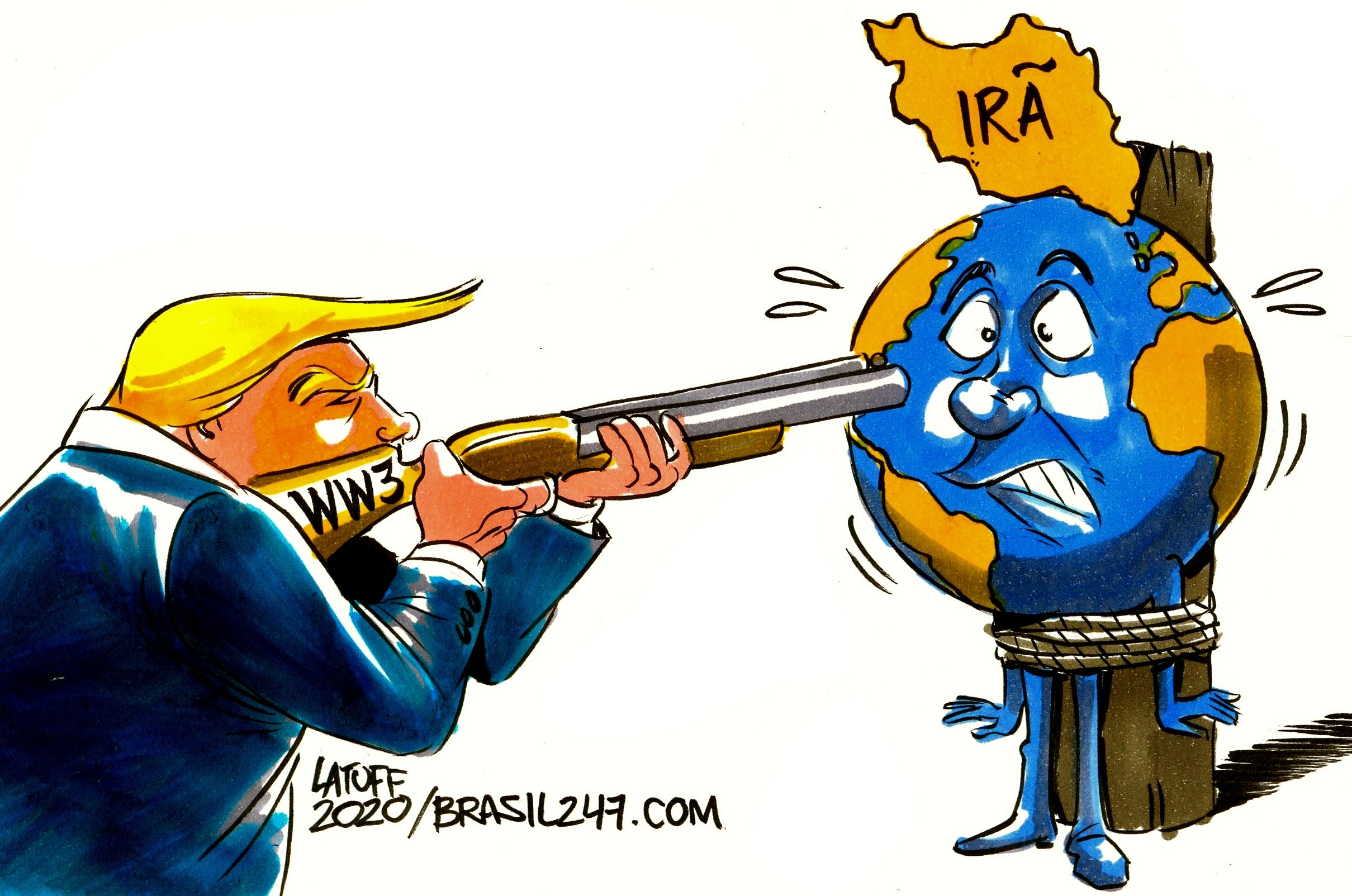 Trump e a Terceira Guerra Mundial Brasil 247