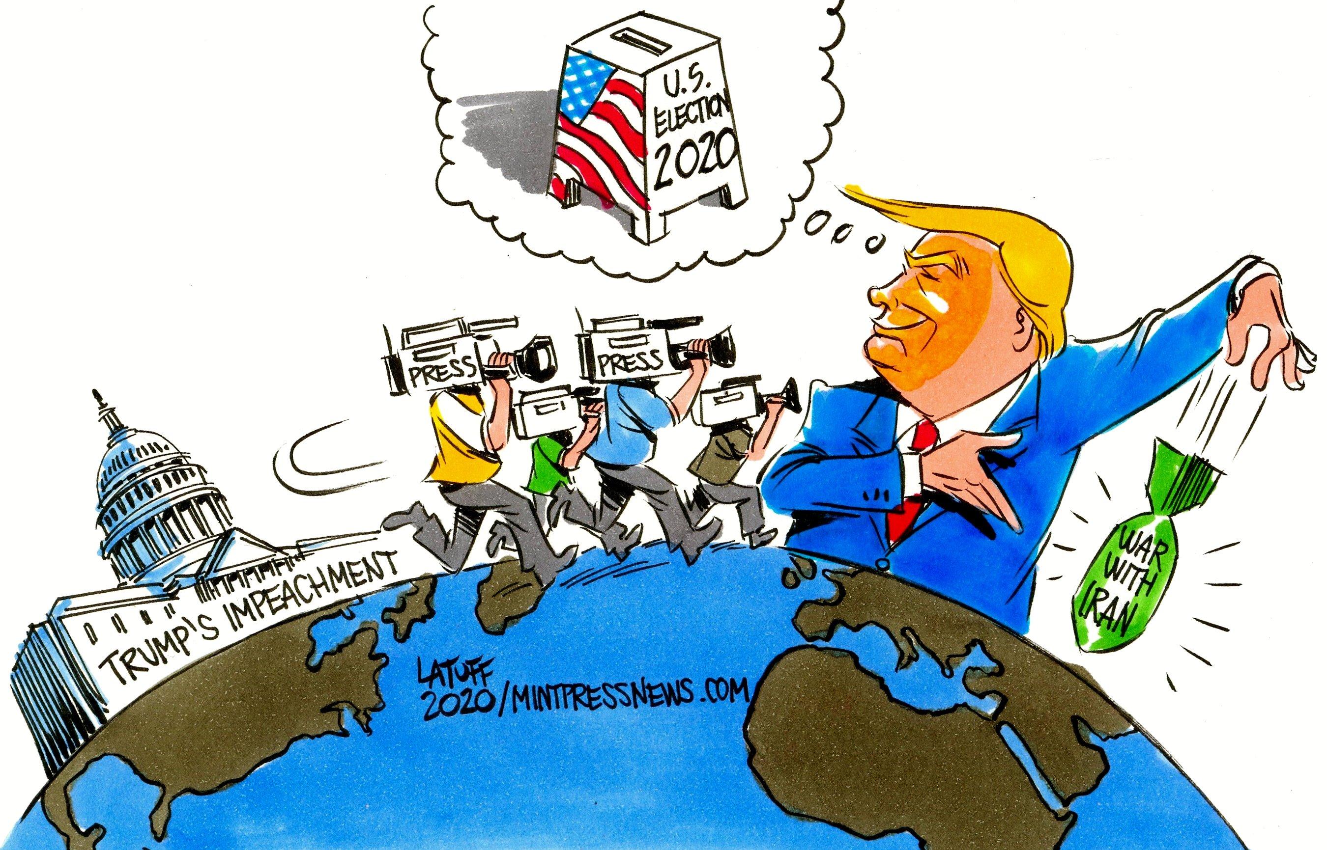 Trump war on Iran Mintpress News