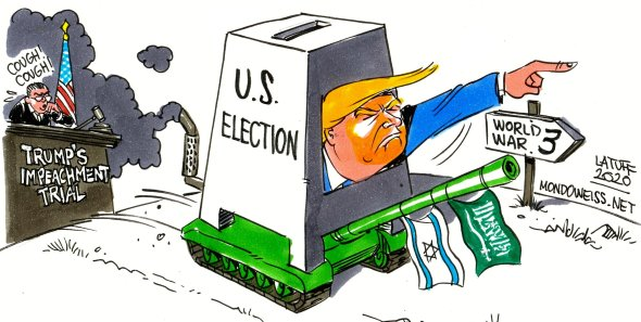 US Israel Saudi Arabia Trump war on Iran Mondoweiss
