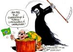 Bolsonaristas coronavirus covid-19 Brasil de Fato pandemiaLatuff